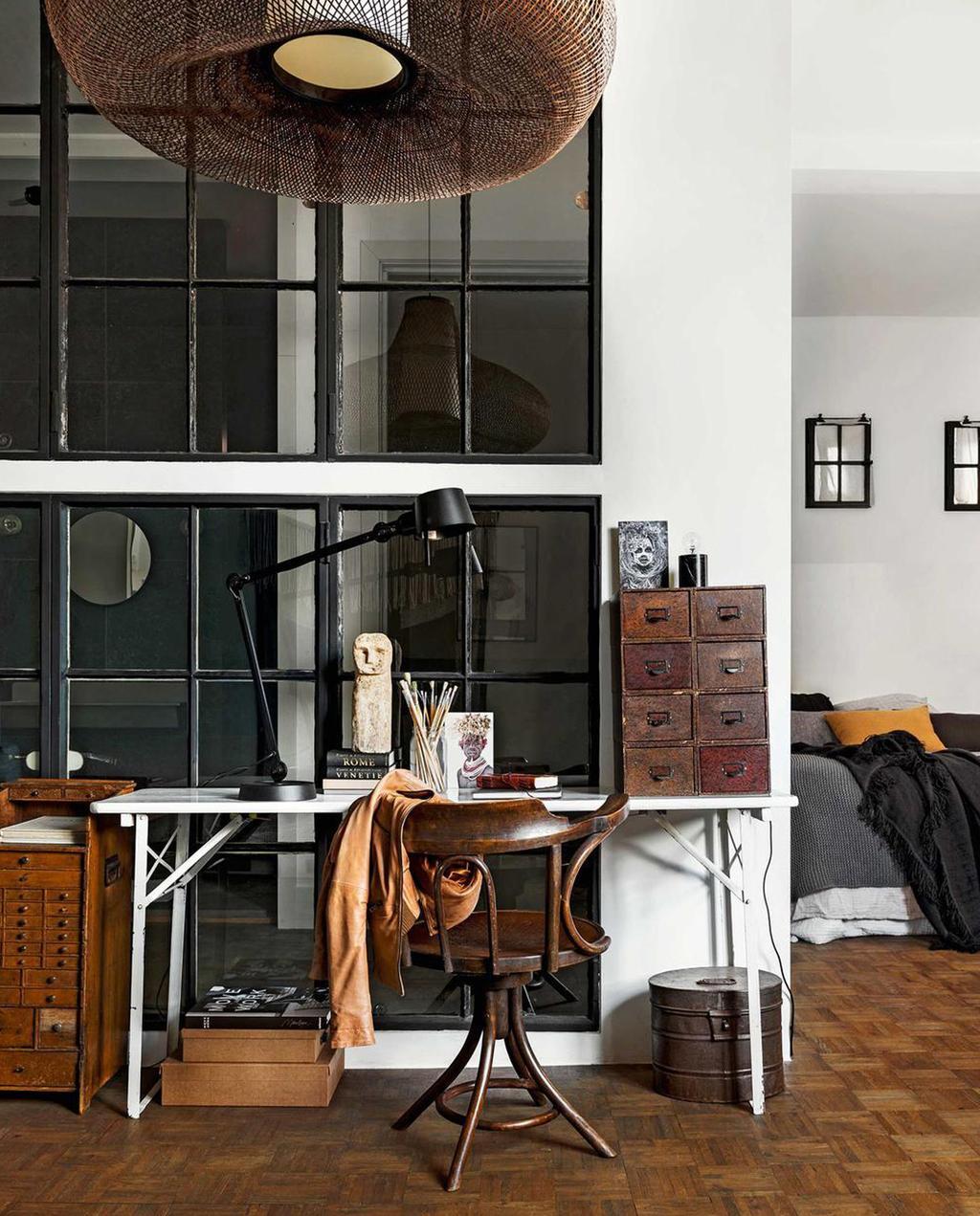 natuurlijke woonkamer | werkplek