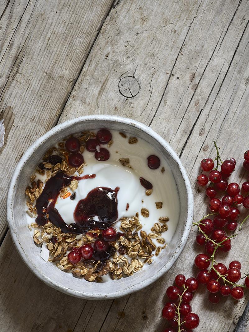 stylen landelijke stijl recept jenni shortt granola walnoten