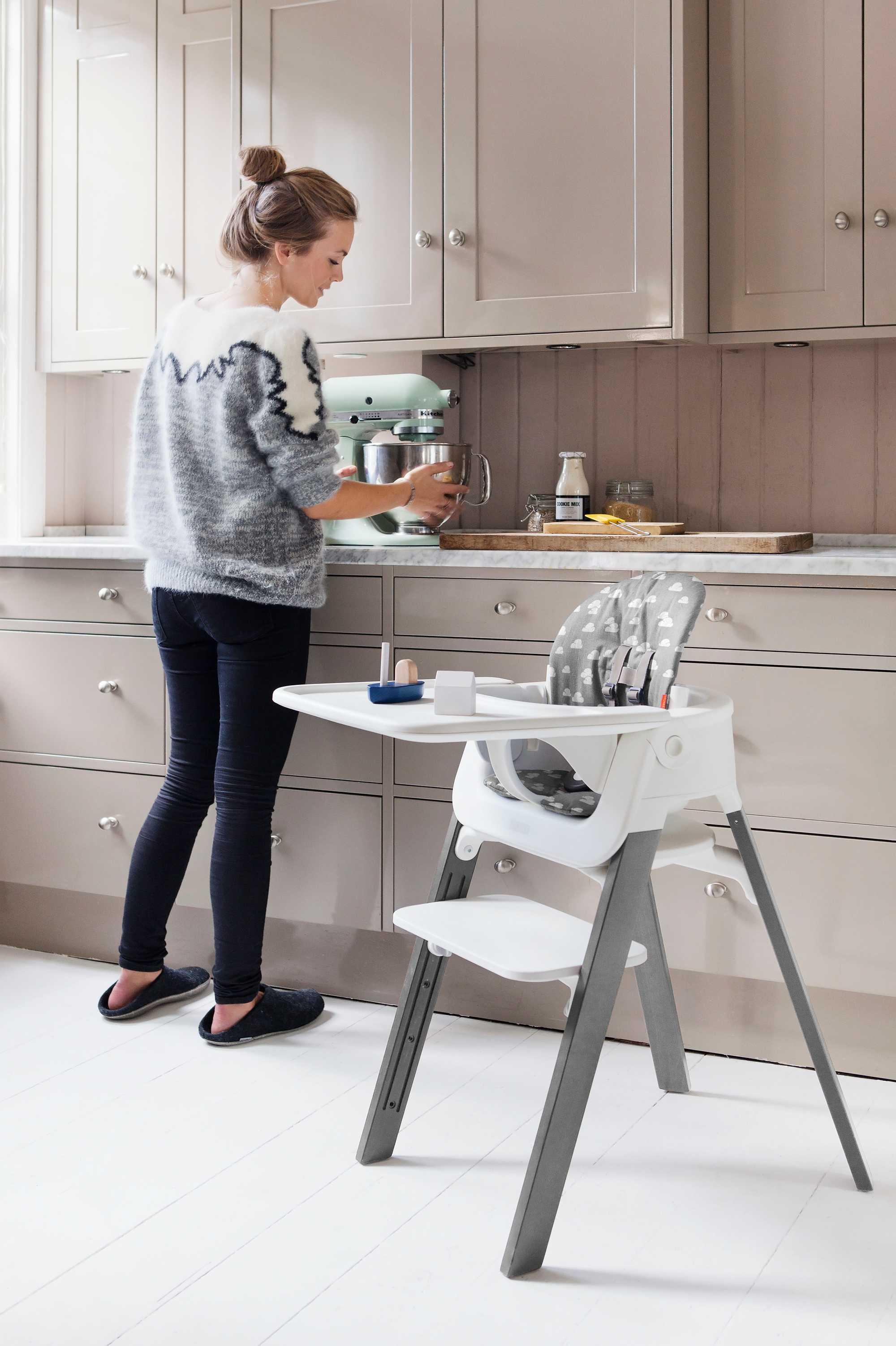 steps keuken meegroeistoel