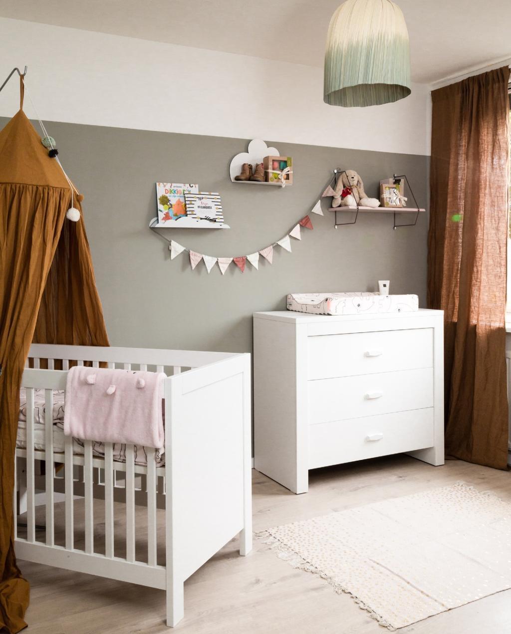 Dit heb je nodig bij het inrichten van de babykamer