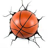 3D Lamp basketbal Voor-Thuis