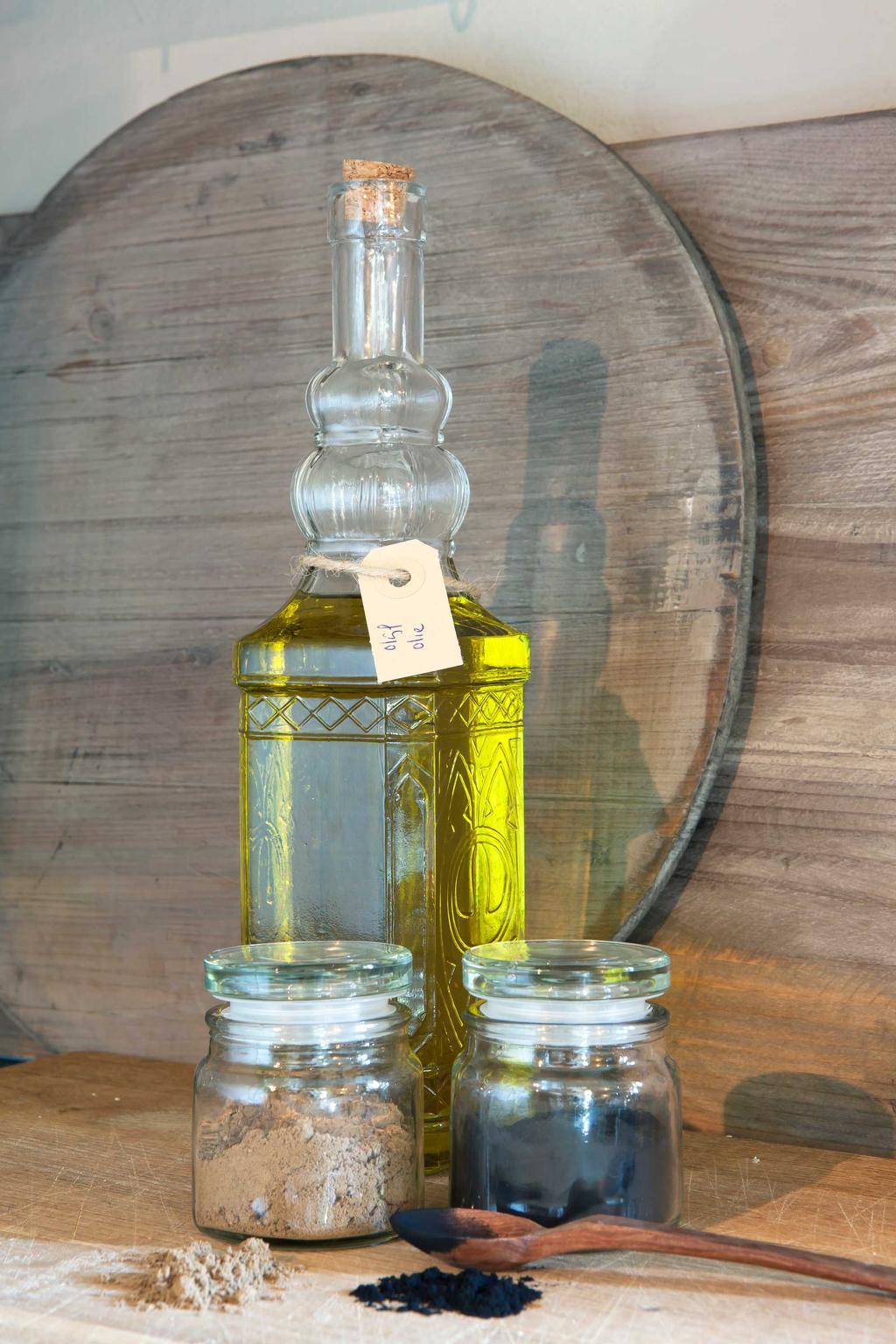 handgemaakte zeep fles pot
