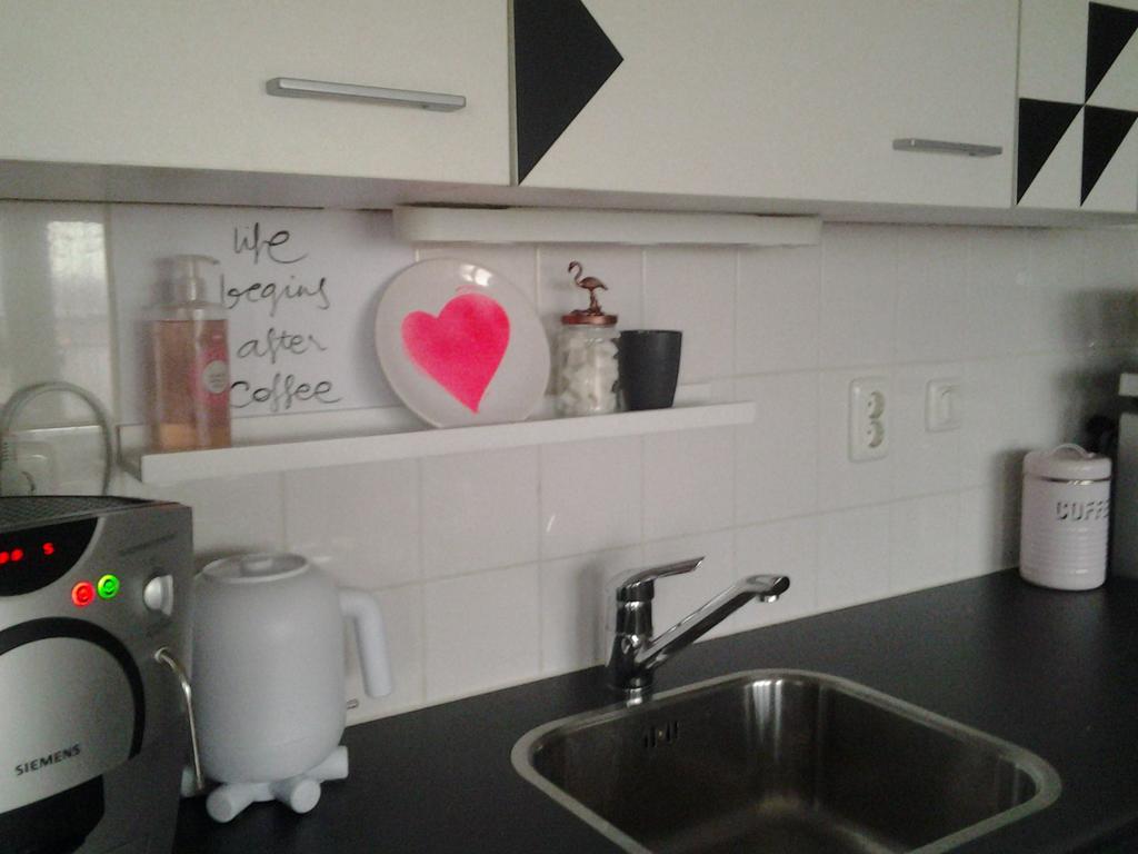keuken met plakfolie