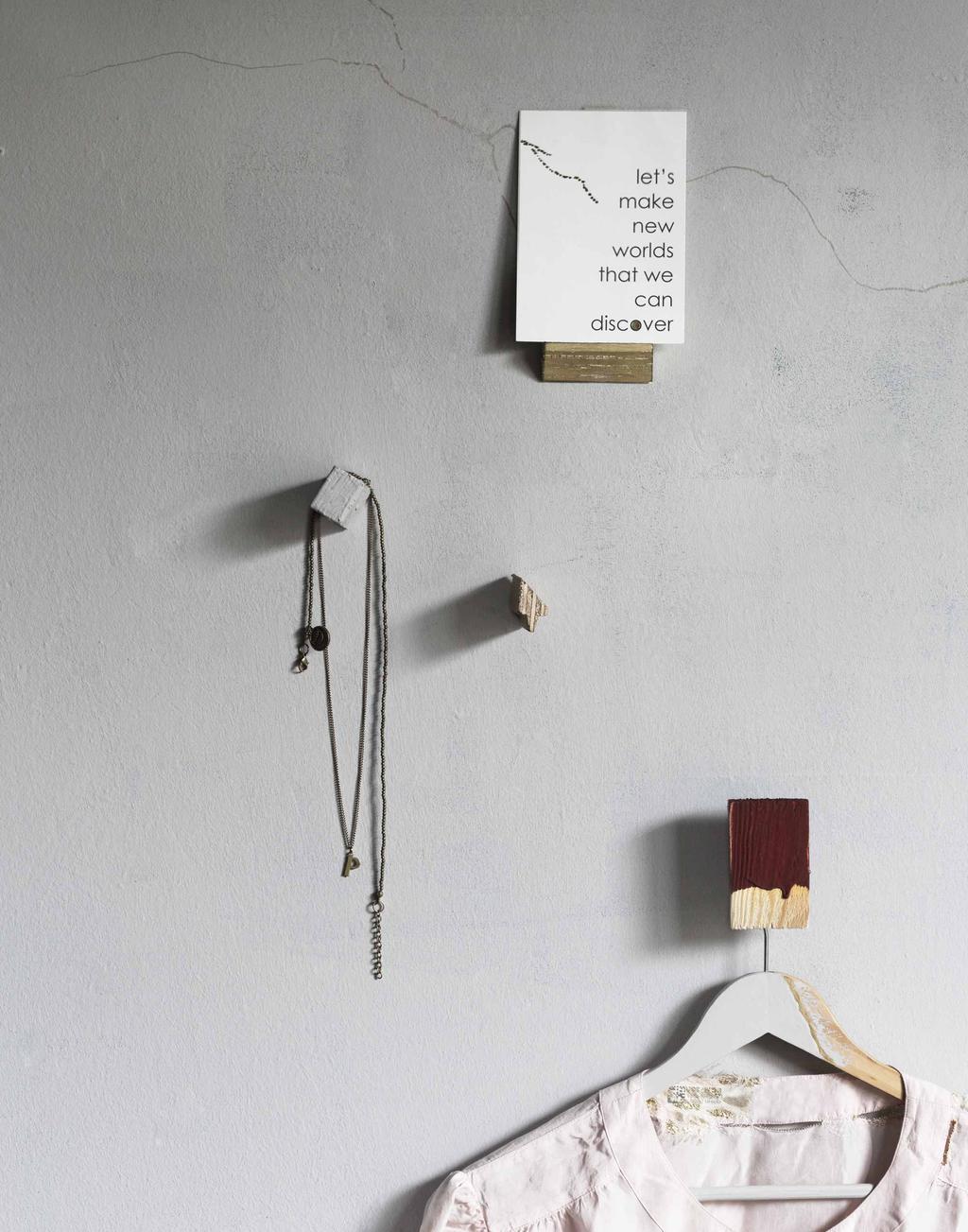 DIY afvalhout aan de muur