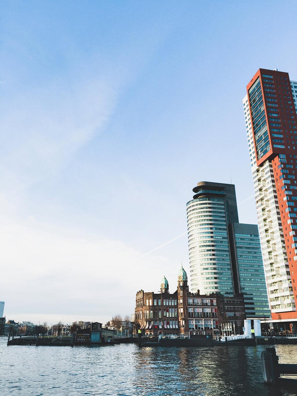 Citytrip Rotterdam Kop van Zuid hotel New York