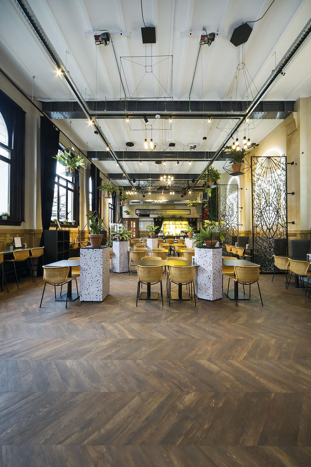 Het restaurant van De Serre in Antwerpen