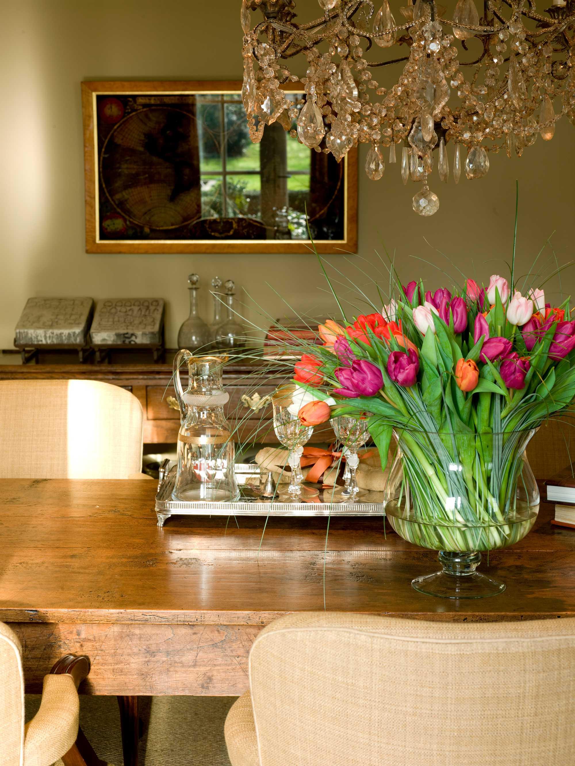 bloemen klassiek tulpen