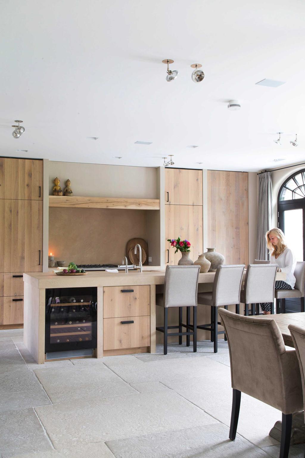 Landelijk & glamour keuken