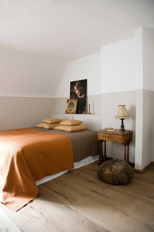 kleur uylenbosch home interiors slaapkamer oranje
