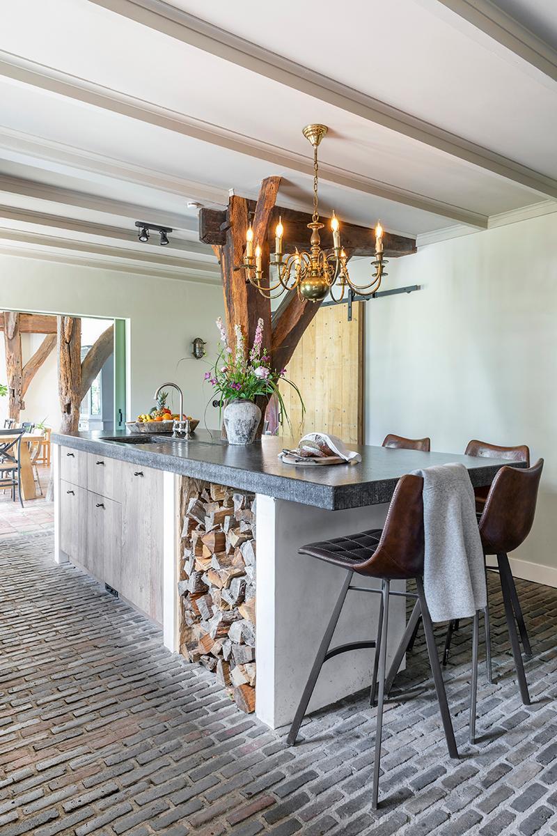 bloemen keuken van harten interieur & styling