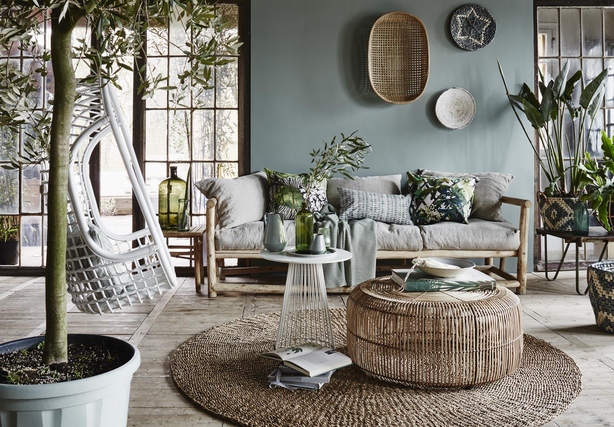 Trendmaterialen: bamboe en rotan in huis