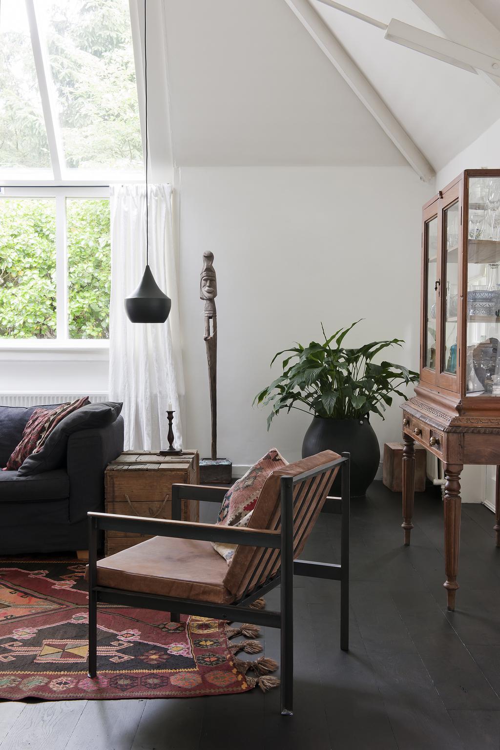 atelierwoning woonkamer
