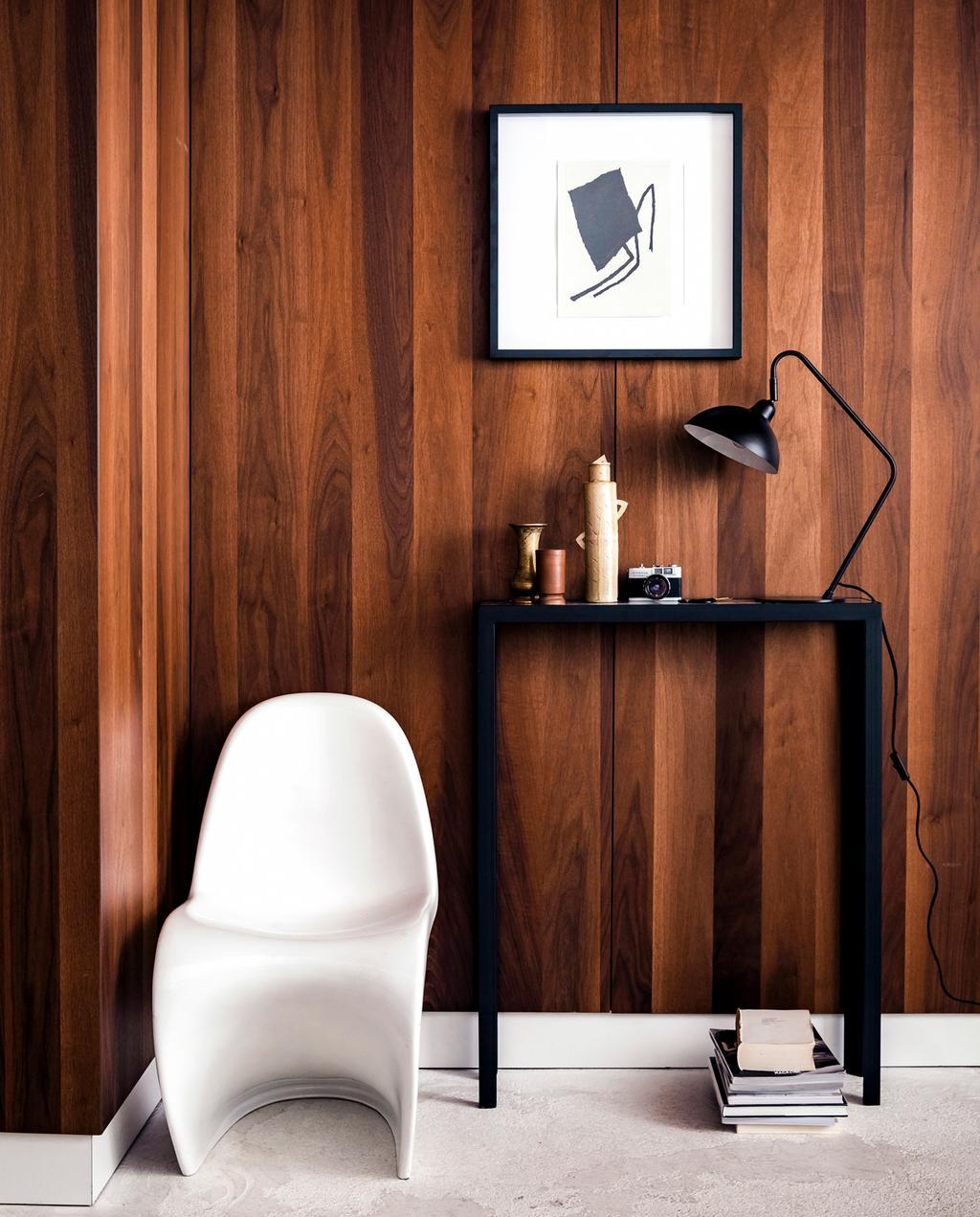 vtwonen 1-2020 | nieuw: vtwonen collectie verlichting houten wand