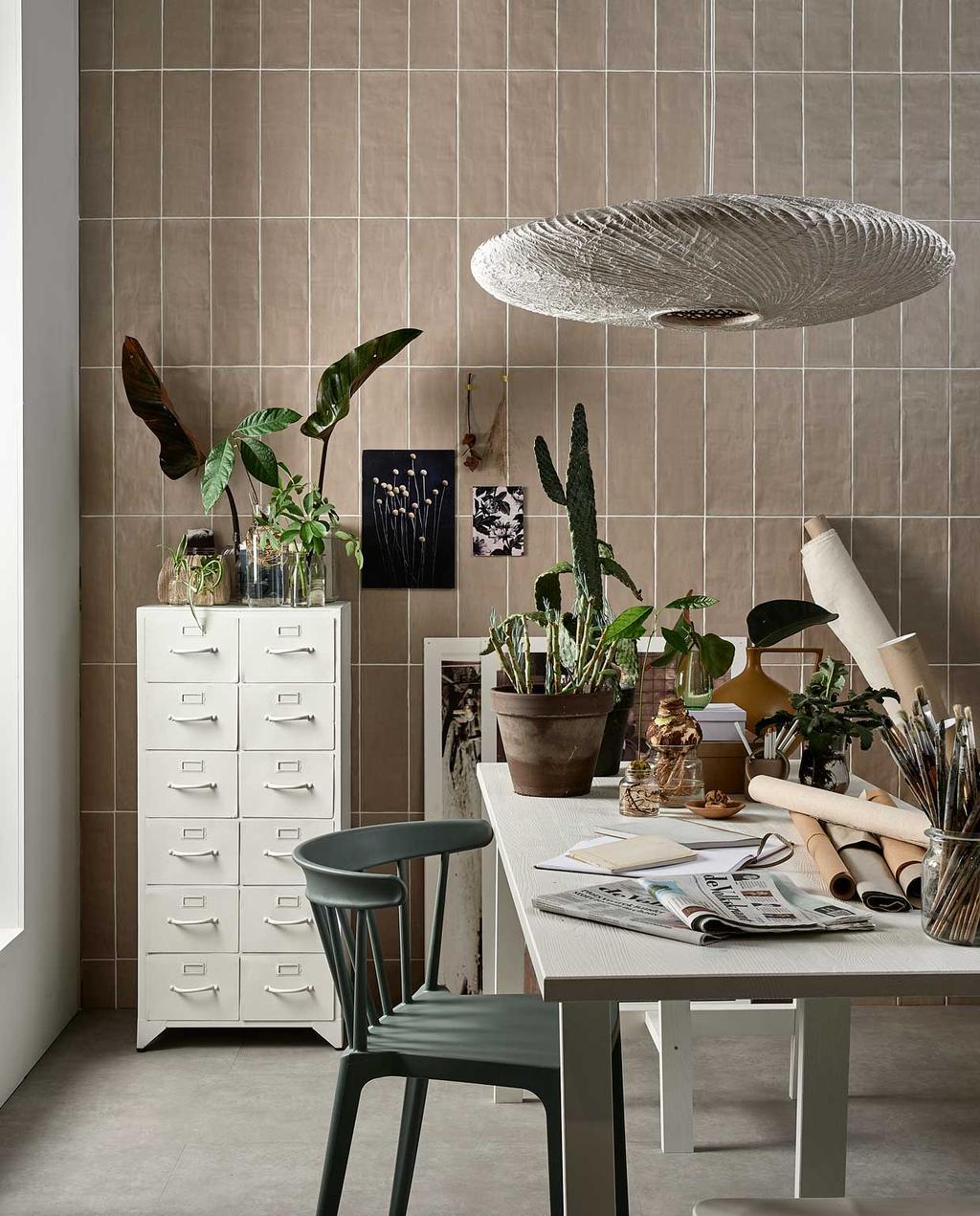vtwonen 01-2021 | styling natuur in huis groene werkplek