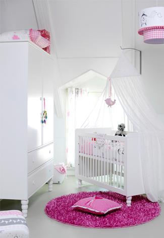 Babykamer meisje ideeen