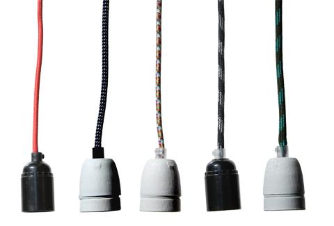 lampenkap aan strijkijzersnoer