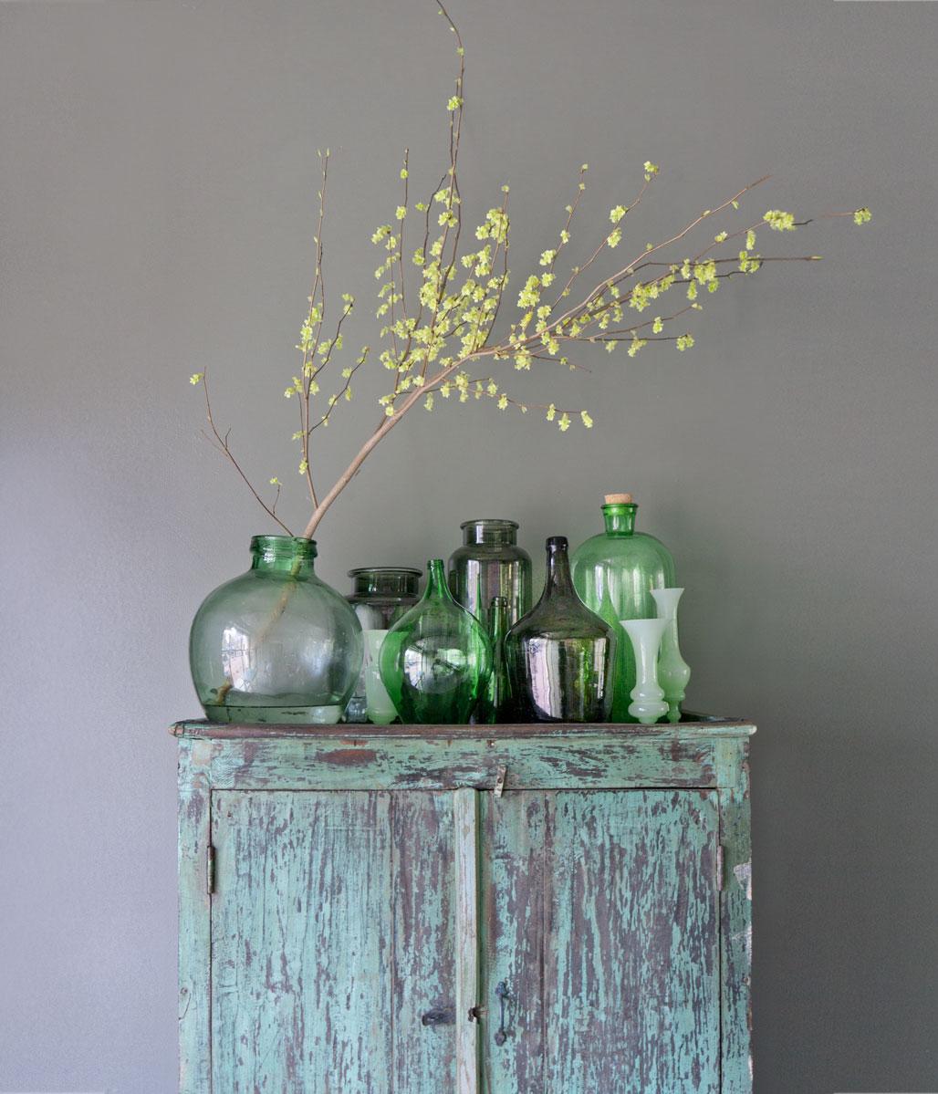 groene vazen
