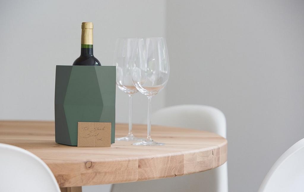 Houd je favoriete dranken koel met een minimalistische drankkoeler van Atelier Pierre x Facet.