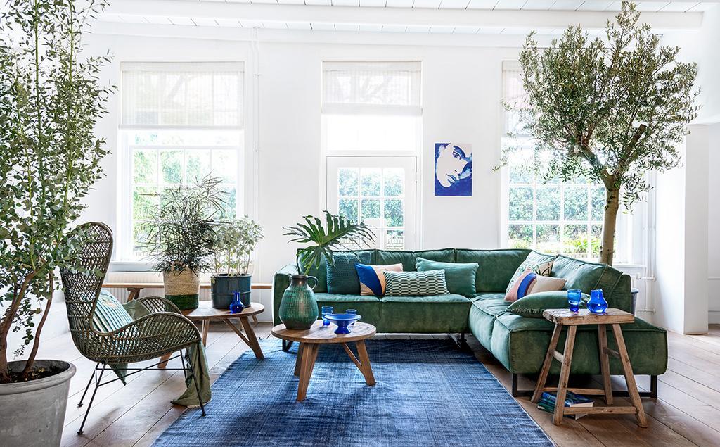 vtwonen styling binnenplanten woonkamer