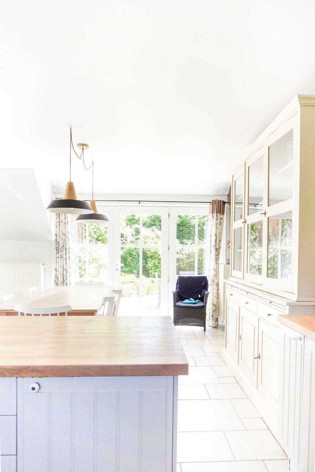 keuken wit hout