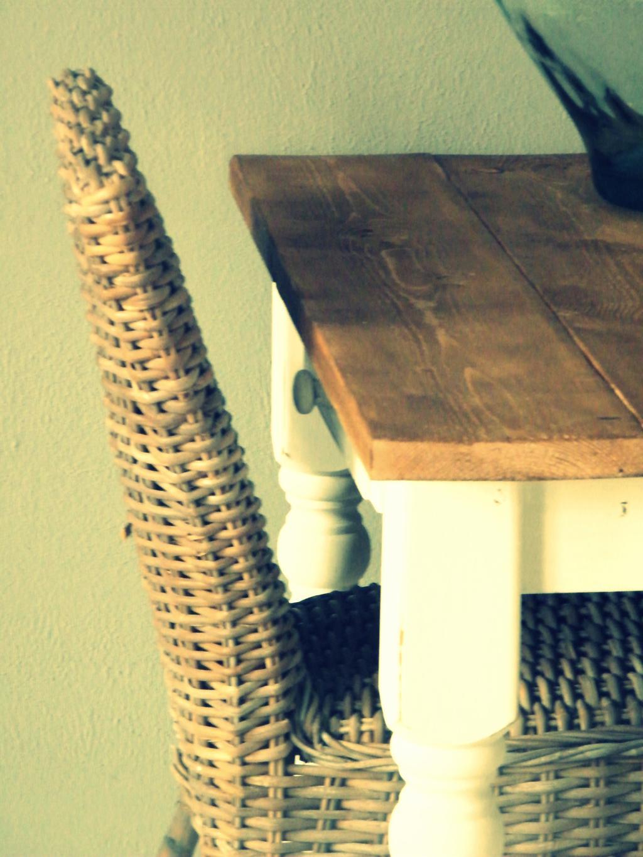 steigerhouten tafelblad