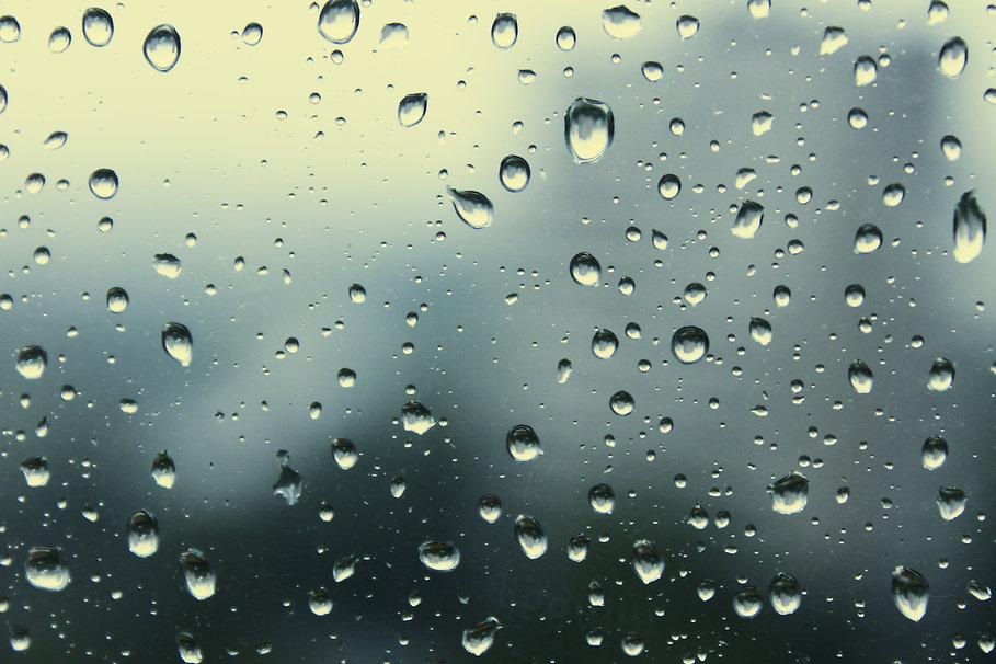 regen glas