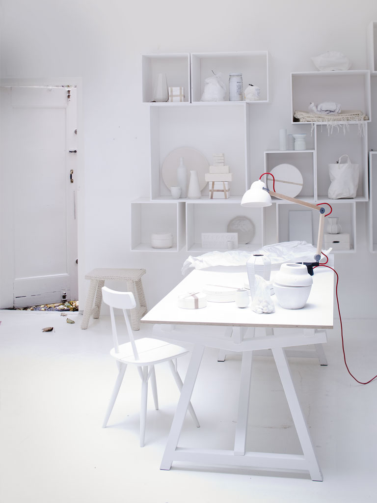 witte werkkamer