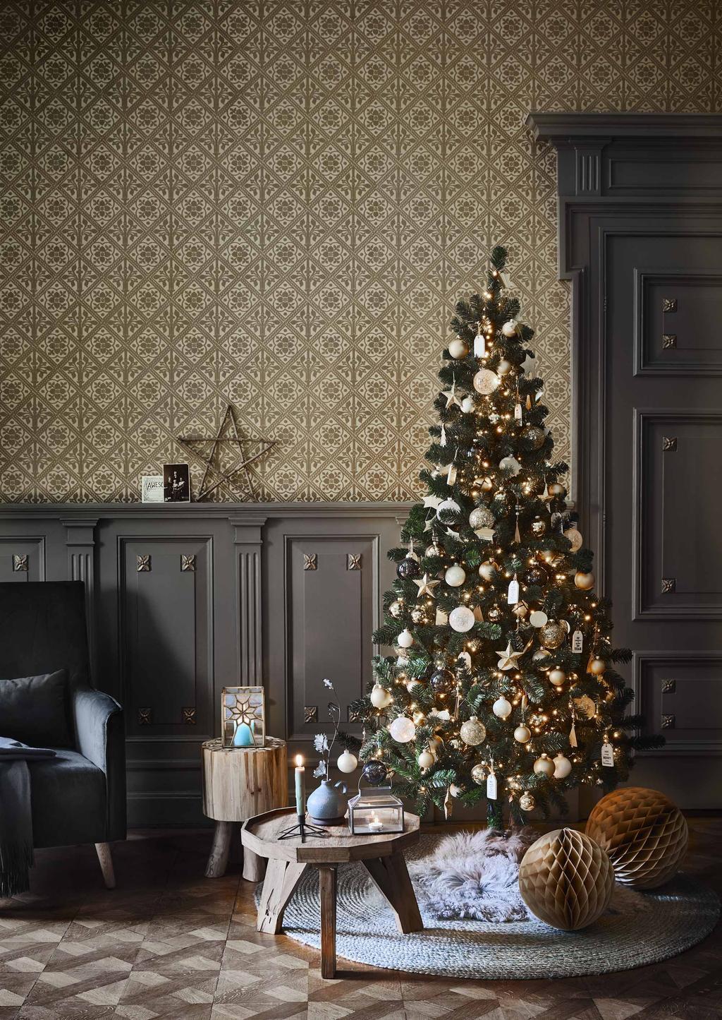 feestkalender kerstboom