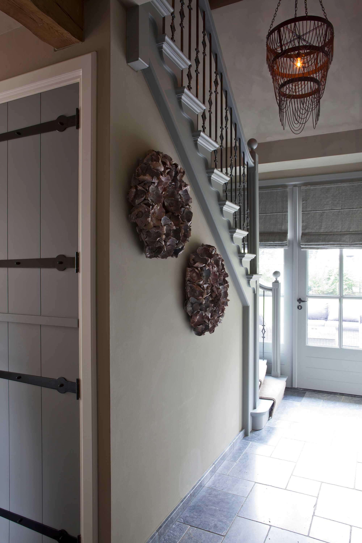winterse wooninspiratie woonthuis interieurstyling atelier op zolder traphal