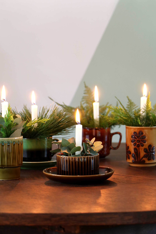 Mini kerststukjes