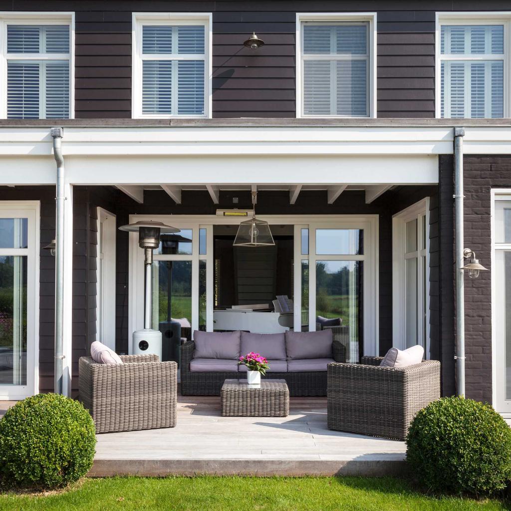terrasse bancs