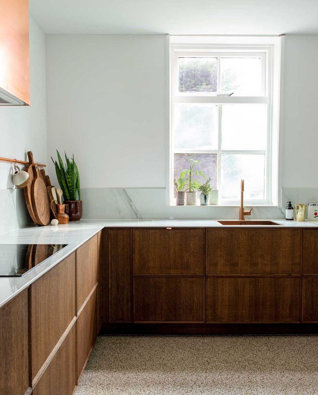 vtwonen 08-2020 | binnenkijken hillegom | keuken met pasteltinten