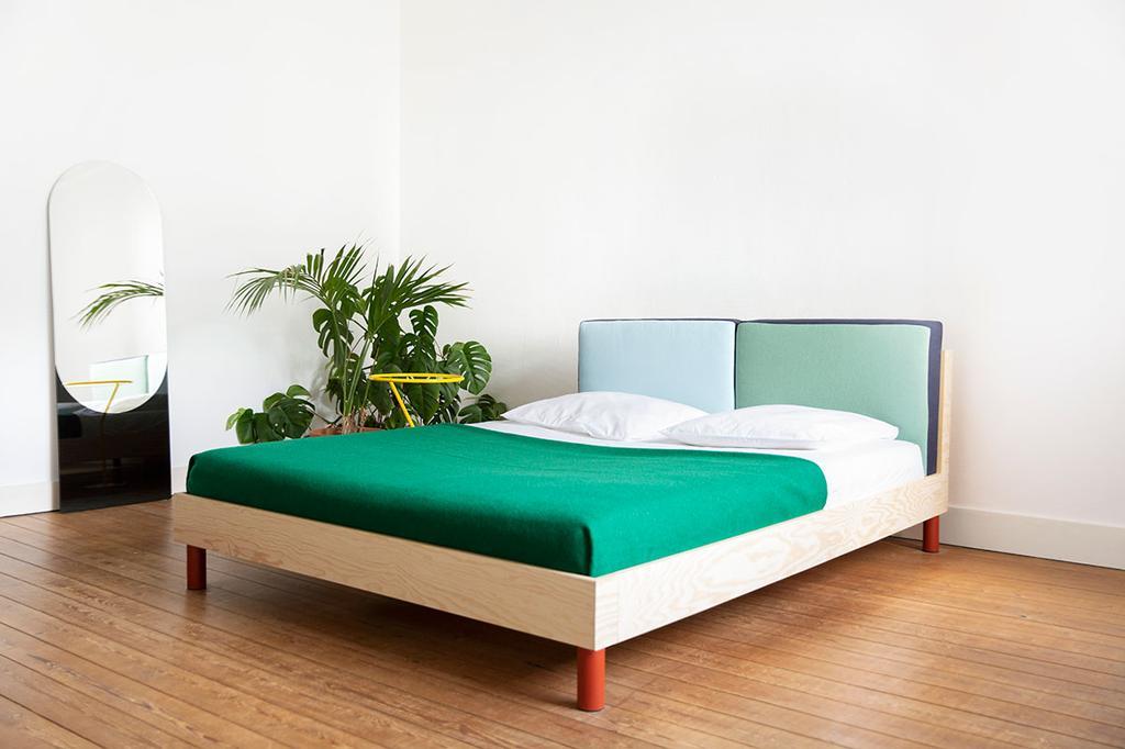 Bed door Belgisch designtalent Axelle Vertommen