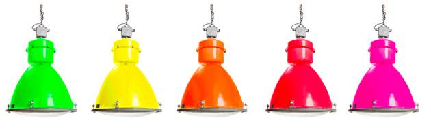 Industrielelampen neon