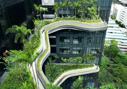 verticale tuin singapore
