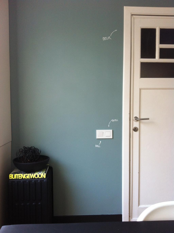 witte deur