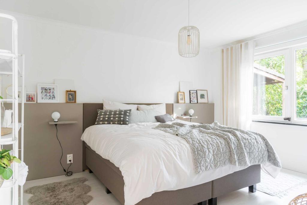 slaapkamer licht wit