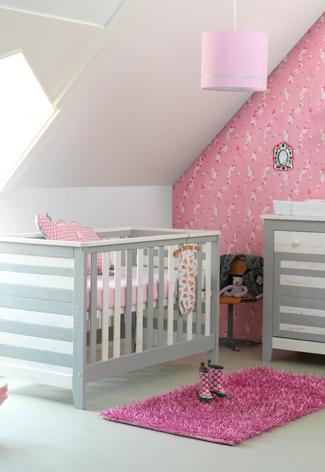 Babykamer Meisje Grijs Roze.Babykamer Grijs Roze Vtwonen