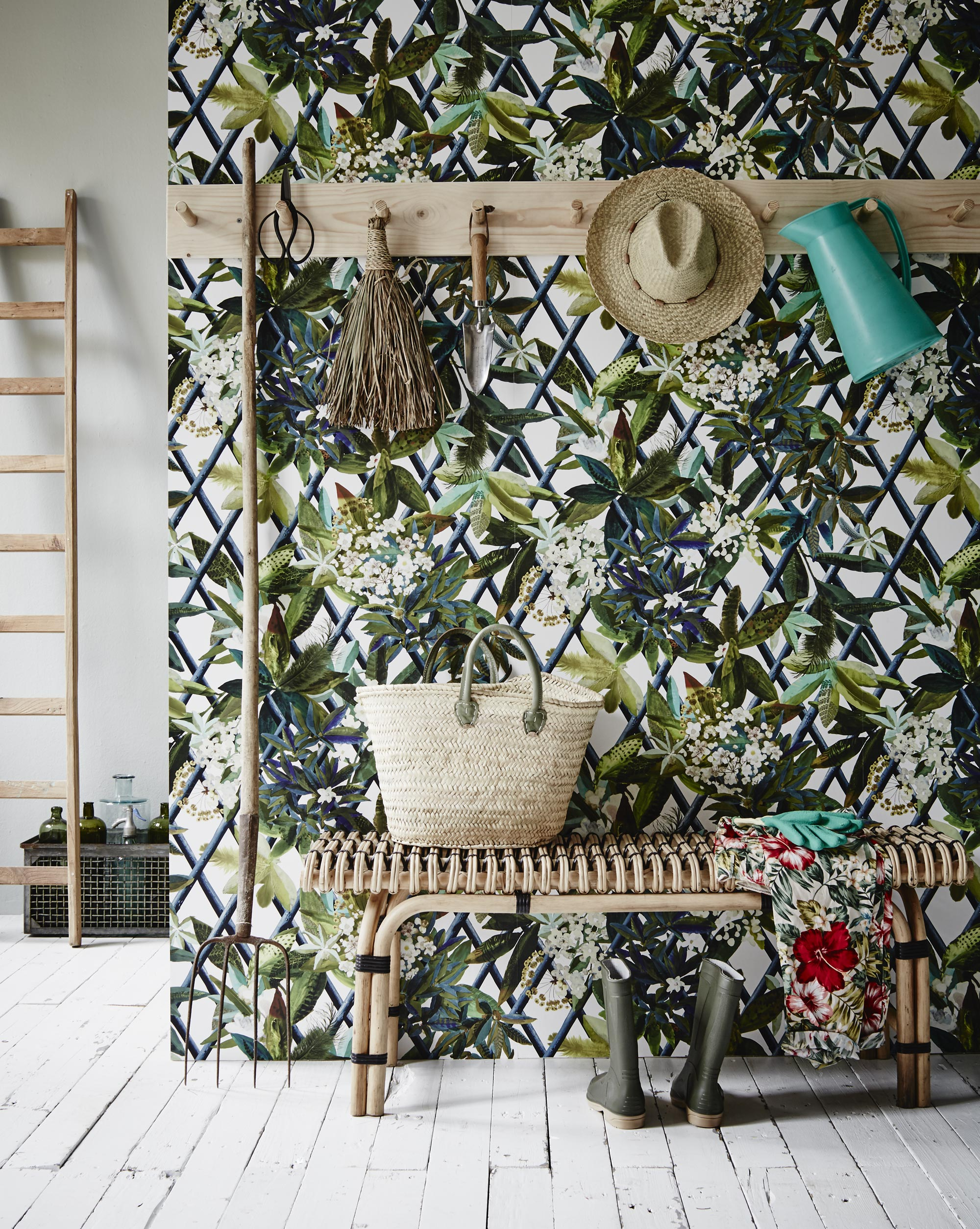 botanisch-behang