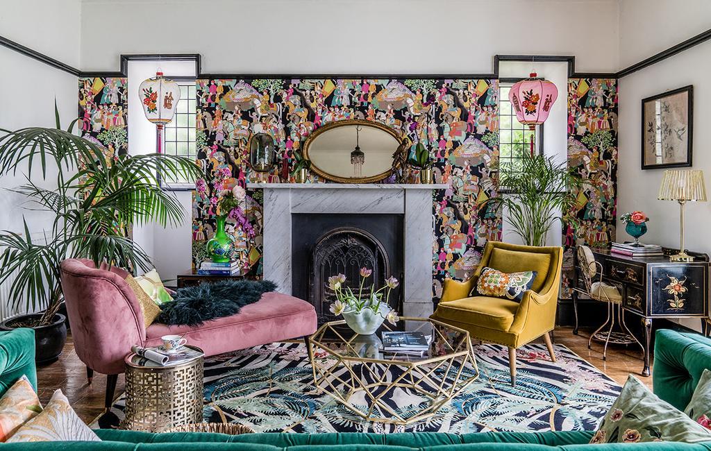 vtwonen 03-2020 | kleurrijk huis in Dunbar Schotland woonkamer