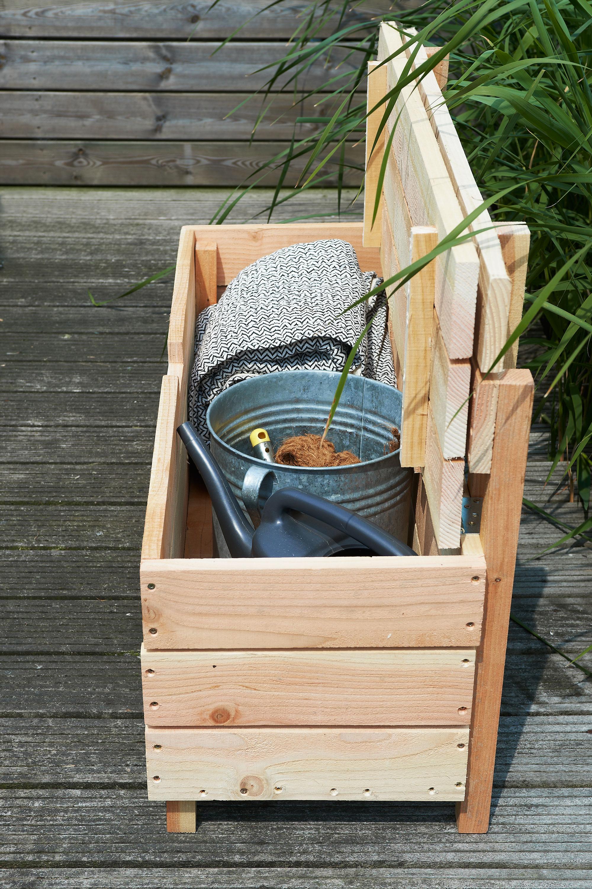 tuinbank maken