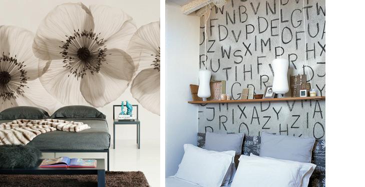 Behang voor de slaapkamer