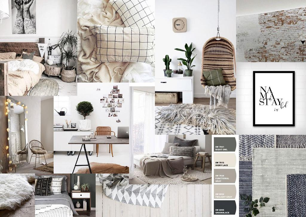 Auping Slaapkamer Styling Battle Moodboard 122