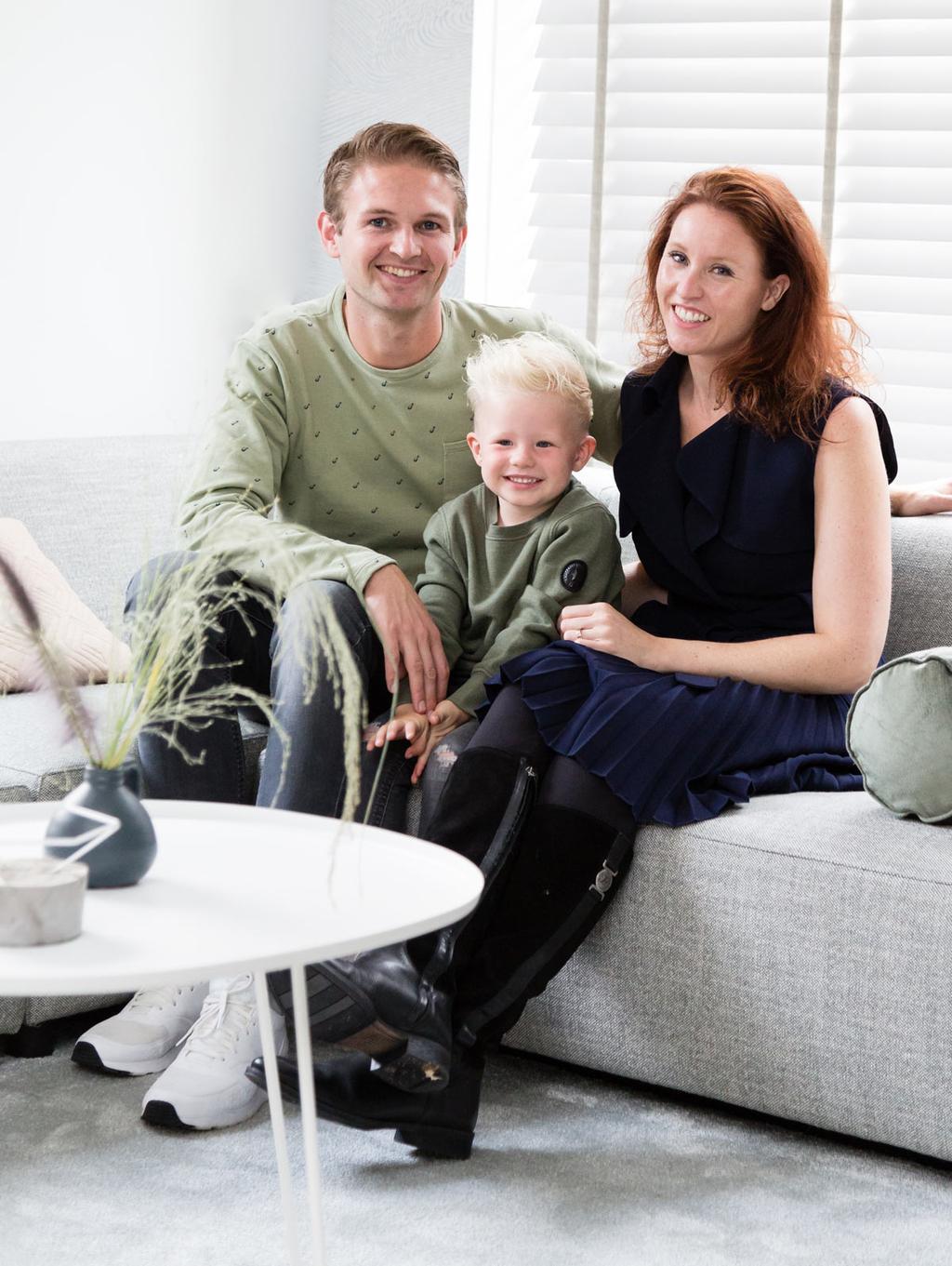 Weer verliefd op je huis, zondag 4 november bij Joey en Katiche uit Noordwijk.
