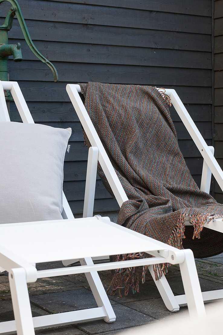 win plaid bryck strandstoel