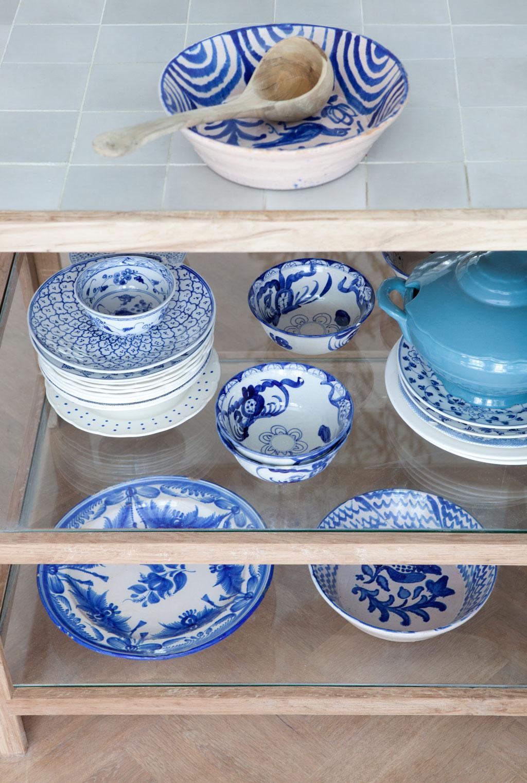 Delfts blauw servies