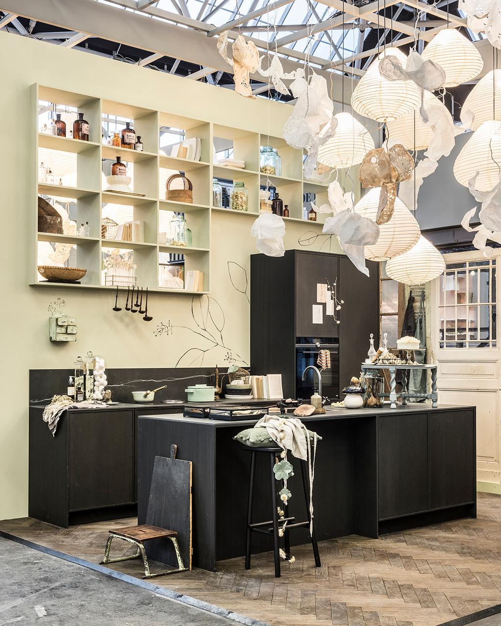 De keuken in het vtwonen huis op de vt wonen&design beurs.