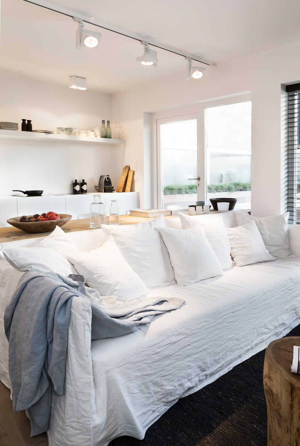 zetel wit dekens