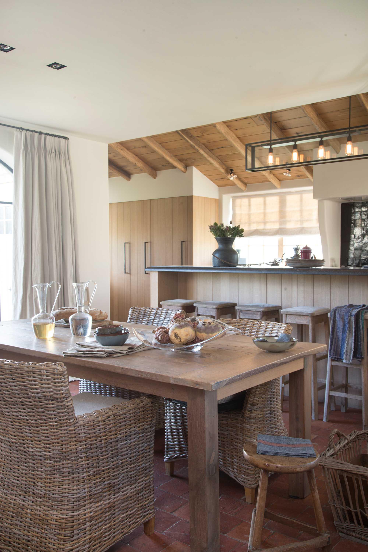 tafel keuken hout