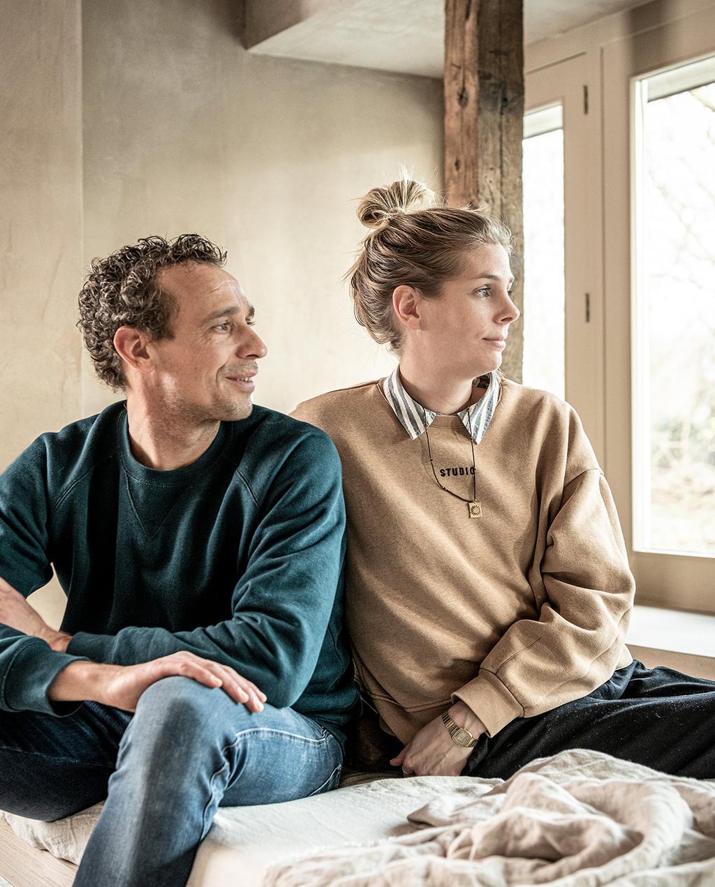 vtwonen 02-2021 | portretfoto van Kim van Rossenberg en Richard van Meerveld